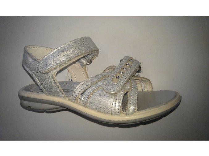 Detská obuv letná IMAC 77631 silver/white - CENA PO ZĽAVE 20%, UŠETRÍTE 7,6 EUR