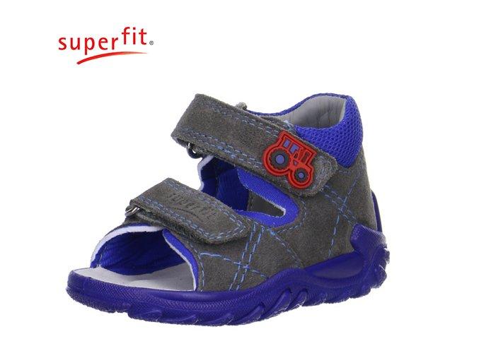 Detské zdravotné sandále Superfit 0 00011 06