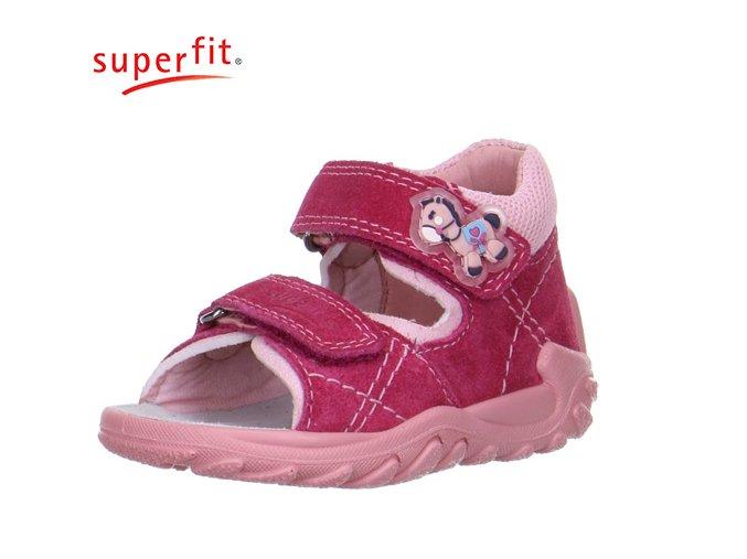 Detské zdravotné sandále Superfit 0 00011 37  - CENA JE PO ZĽAVE 20%, UŠETRÍTE 8,44 EUR