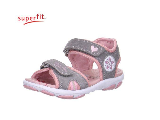 Detské dievčenské sandále Superfit 0 00128 44