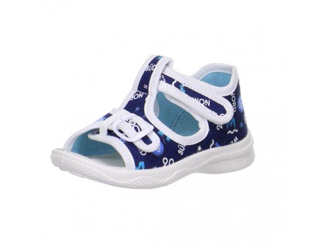 Detské papučky sandálkové 0 00292 81