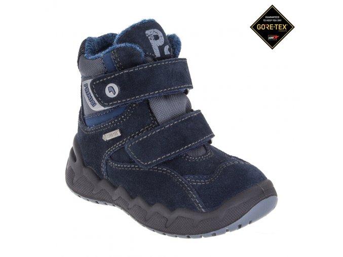 Detská obuv zimná Goretexová Primigi 85602/77  - CENA JE PO ZĽAVE 20%, UŠETRÍTE 10,72 EUR
