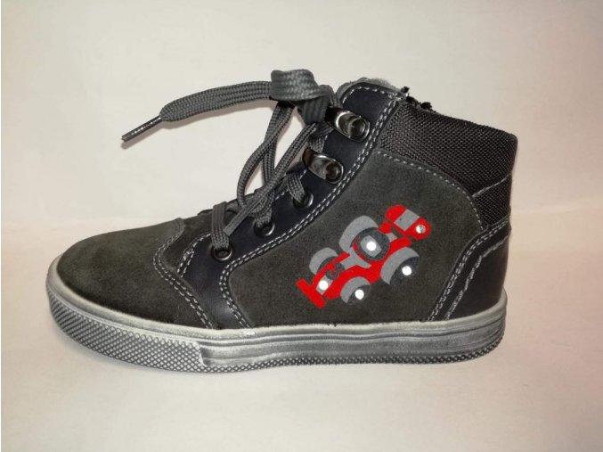 Mierne zateplené blikajúce chlapčenské topánky Richter 6547 241 6500