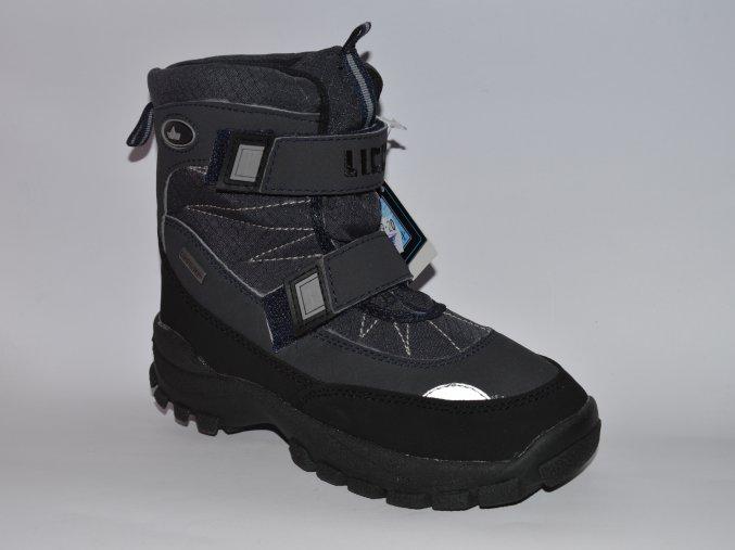 Zimné chlapčenské topánky LICO Austria 720093 - CENA JE PO ZĽAVE 30%, UŠETRÍTE 13,44 EUR