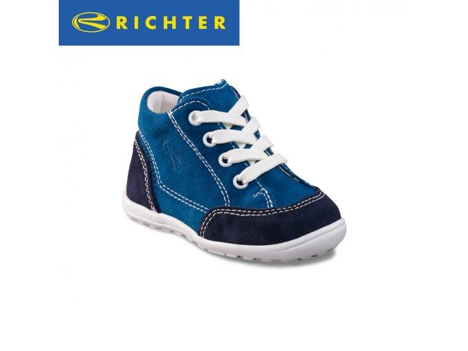 Detská celokožená obuv Richter 0022 322 7201