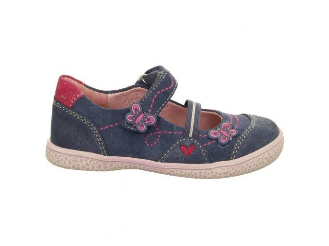 Dievčenská celokožená vychádzková obuv Lurchi by Salamander 33-15274-22