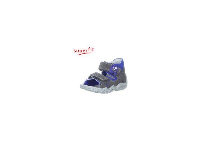 Detské zdravotné sandálky Superfit 4 00011 07- CENA JE PO ZĽAVE 30%, UŠETRÍTE 12,30 EUR