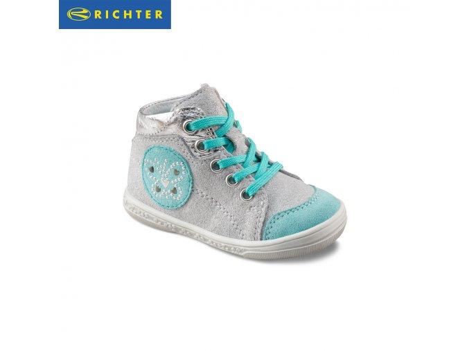 Detská obuv celokožená celoročná Richter 0322 521 0201