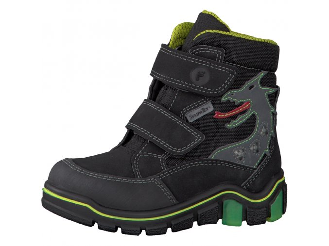 Detské nepremokavé zimné topánky Ricosta Grisu 68 52211/091