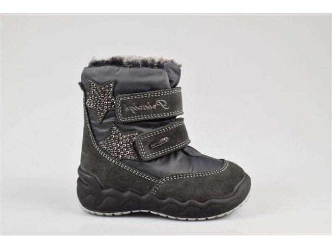 Detská dievčenská obuv zimná Goretexová Primigi 23784/00