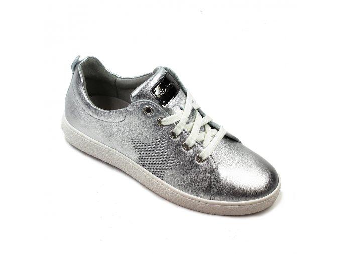 Celokožené dievčenské topánky Richter 3621 544 0200