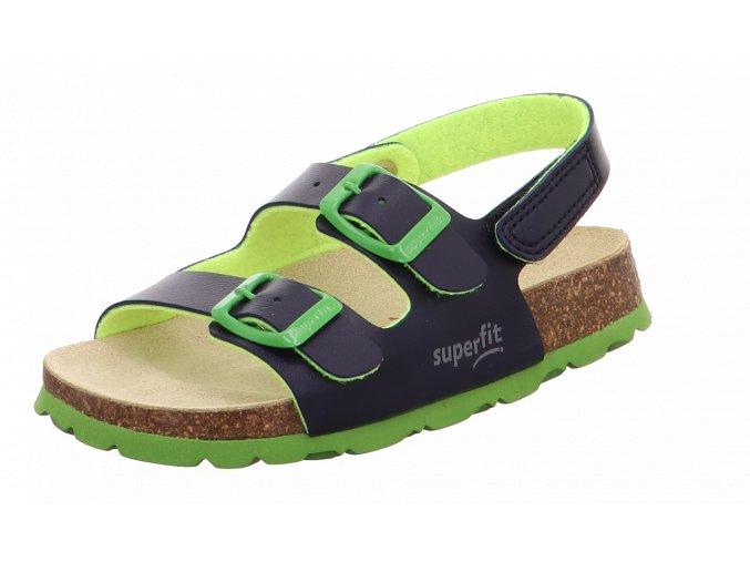 Detské korkové sandále Superfit 6 00124 81