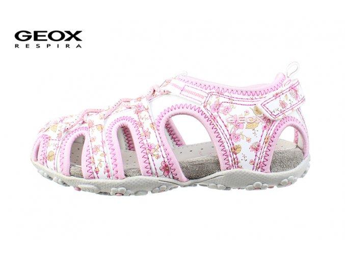 Dievčenské športové sandále Geox J52D9C 0CE15 C0406
