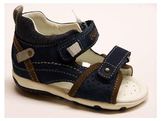 Celokožené sandále Geox B32L8J 00032 C4000