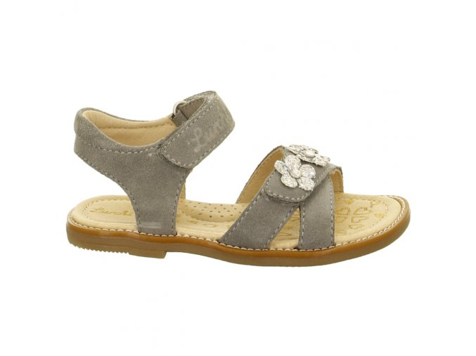Dievčenské celokožené sandálky Lurchi by Salamander 33-13411-25 - CENA JE PO ZĽAVE 20%, UŠETRÍTE 10,16 EUR (veľk.27,29) 11,06 EUR (veľk.31,32,33,34,35)