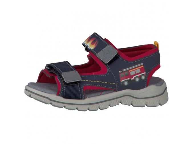 Chlapčenské blikacie sandále Ricosta 69 62274/174