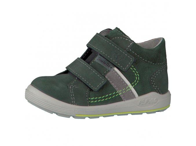 Chlapčenské nepremokavé topánky Ricosta laif-oliv 69 24201/581