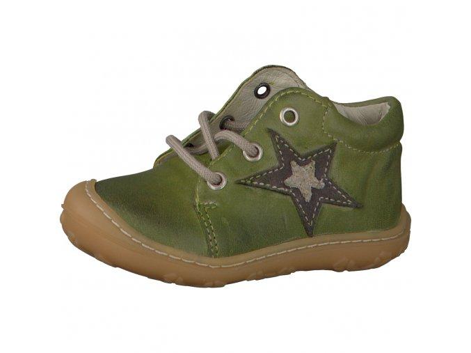 Chlapčenská kožená obuv Ricosta Romy 70 12225/570