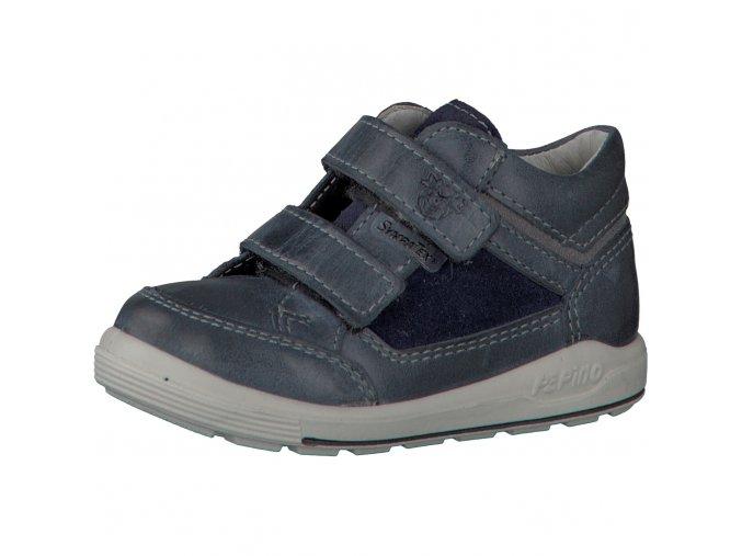 Chlapčenská celokožená nepremokavá obuv Ricosta 70 24223/180