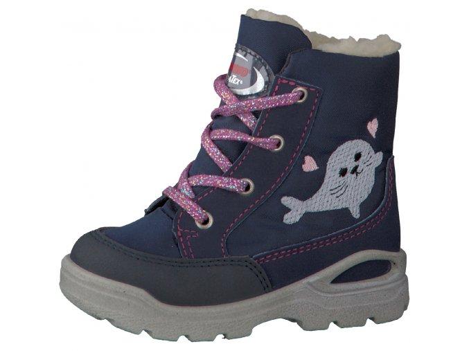 Detské zimné nepremokavé topánky Ricosta 70 39317/170