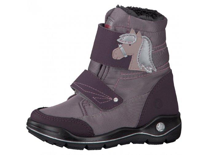 Detské nepremokavé zimné topánky Ricosta 70 84201/340