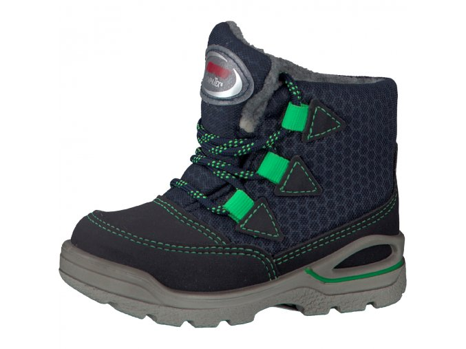 Detská chlapčenská nepremokavá zimná obuv Ricosta 70 39201/170