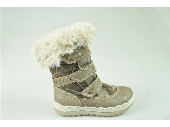 Dievčenská obuv zimná Goretexová Primigi 43823/33