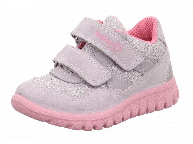 Detské dievčenské topánky Superfit 6 09191 26