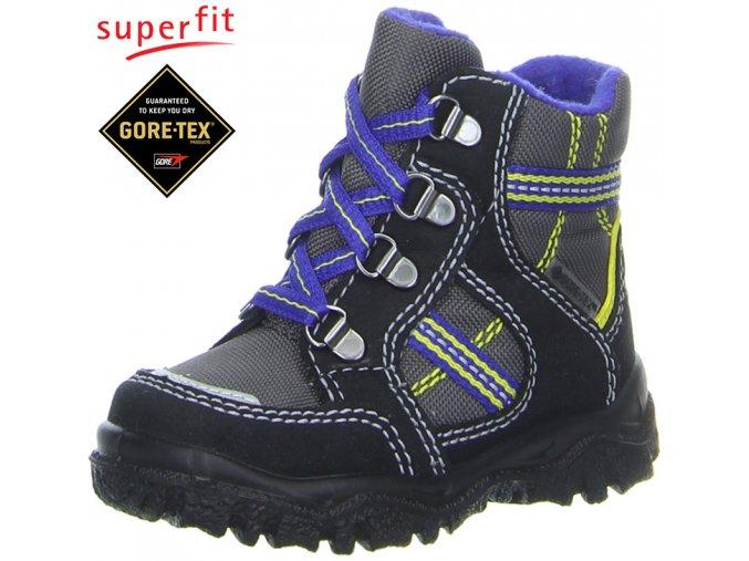 Detská obuv zimná goretexová Superfit 3 00042 03  - CENA JE PO ZĽAVE 20%, UŠETRÍTE 9,44 EUR