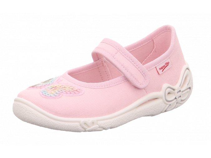 Detské dievčenské papučky Superfit 6 00287 55