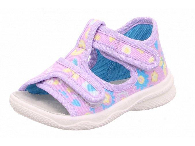 Detské dievčenské papučky Superfit 6 00293 90