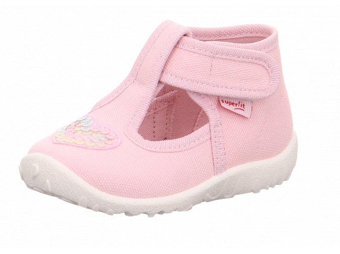Detské dievčenské papučky Superfit 6 09252 55