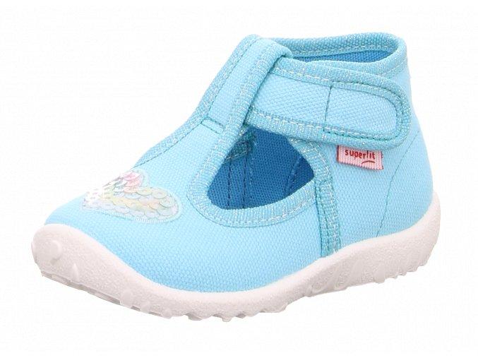 Detské dievčenské papučky Superfit 6 09252 75