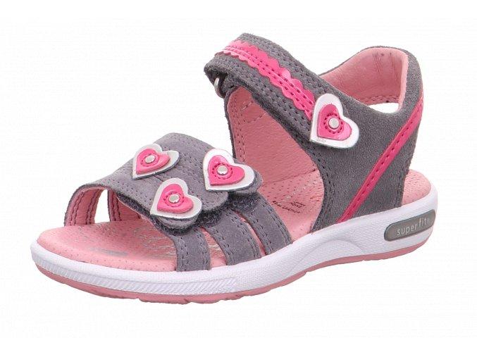 Detské dievčenské sandále Superfit 6 06133 25