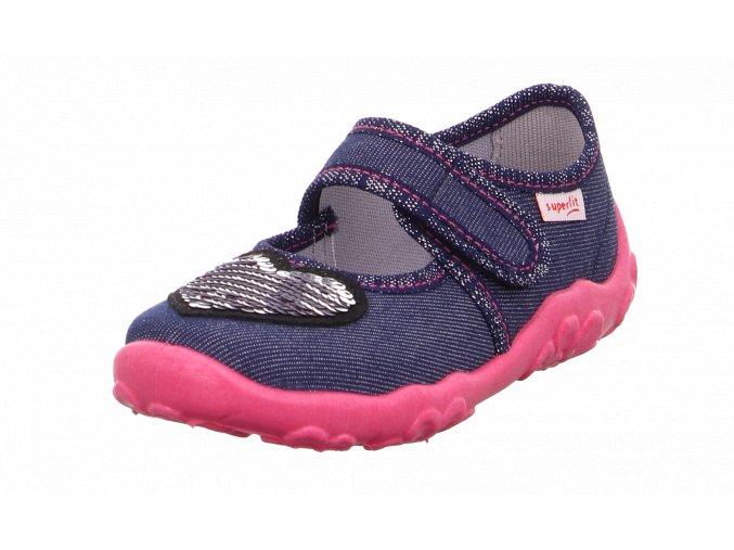 Detské dievčenské papučky Superfit 1 00280 80
