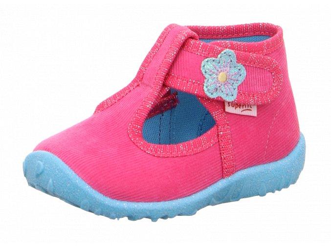 Detské dievčenské papučky Superfit 1 09252 55