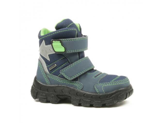 Detské zimné nepremokavé topánky Richter 7989 8171 7201
