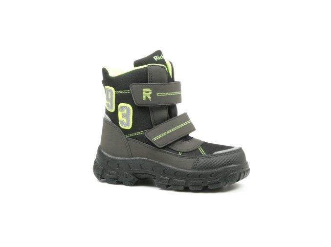 Detské zimné nepremokavé topánky Richter 7990 8171 9901