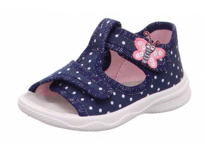 Detské dievčenské papučky Superfit 1 00293 8010