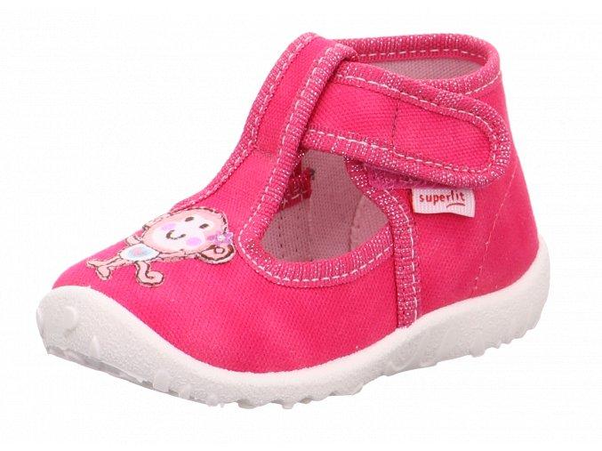 Detské dievčenské papučky Superfit 1 09252 50