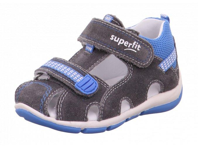 Detské chlapčenské sandálky Superfit 6 00140 25