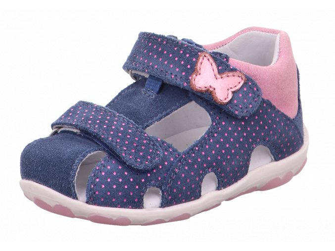 Detské dievčenské sandálky Superfit 6 09041 8010