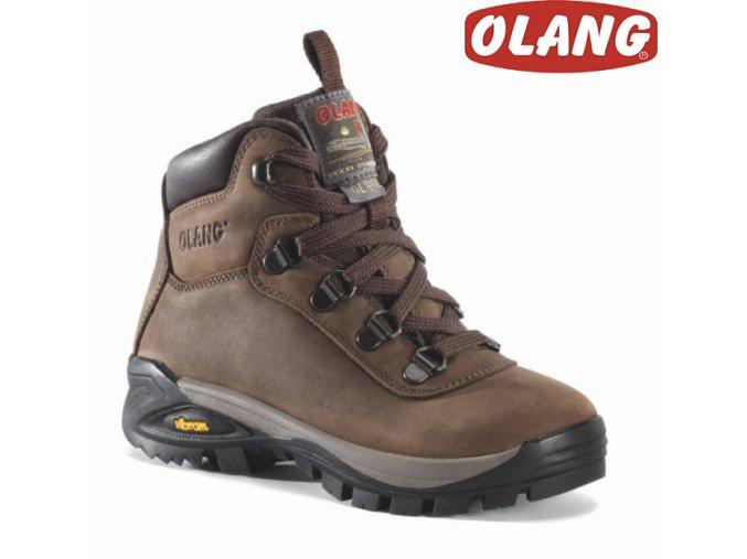 Trekingové topánky Olang Logan Kid tex