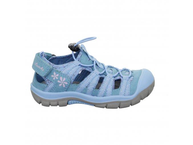 Dievčenské športové sandále Lurchi by Salamander 33-21616-39