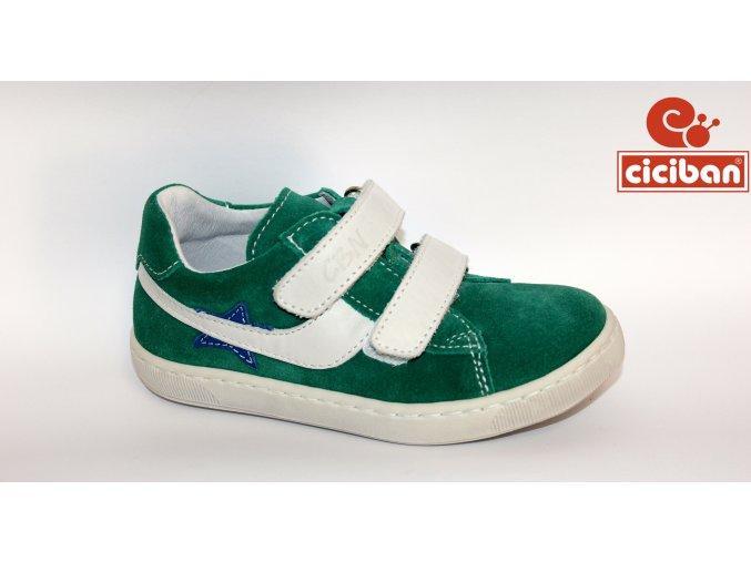 Detská celokožená obuv Ciciban Alex Prato