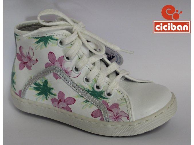 Detská kožená obuv Ciciban Spring lotus