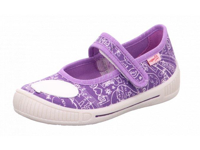 Detské dievčenské papučky Superfit 1 00262 8510
