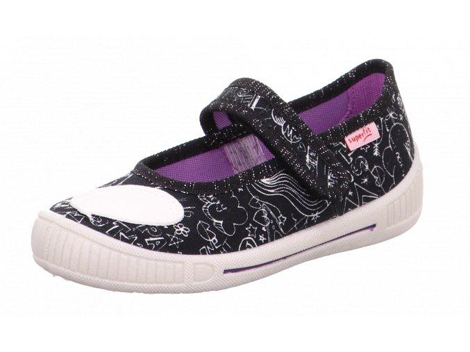 Detské dievčenské papučky Superfit 1 00262 00