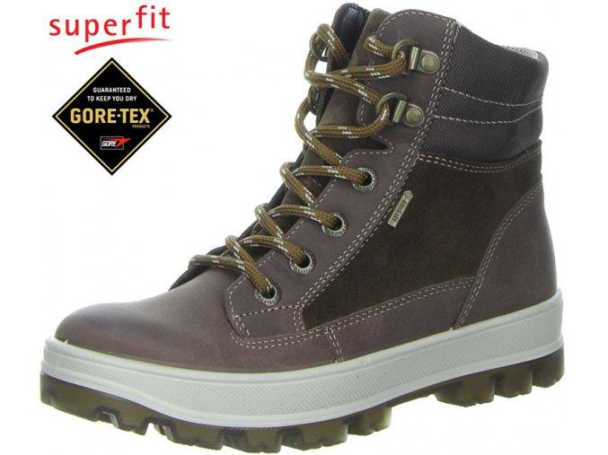 Detská obuv goretexová Superfit 3 00473 11
