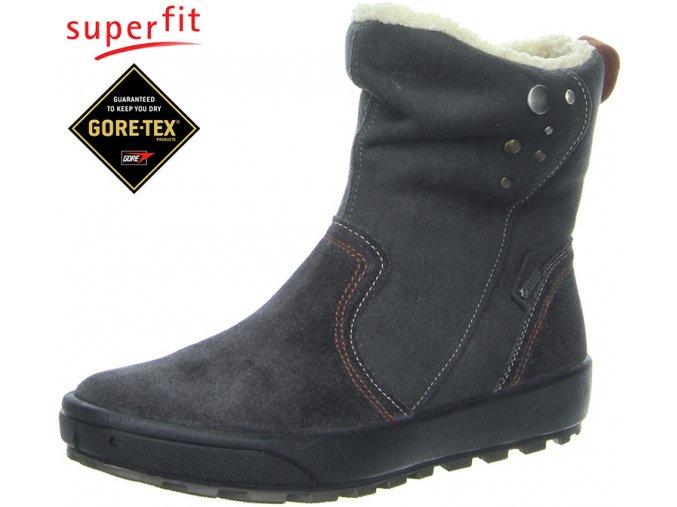 Detská obuv zimná goretexová Superfit 3 00483 88  - CENA JE PO ZĽAVE 20%, UŠETRÍTE 14,58 EUR